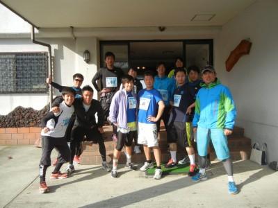 ハードなコースにもかかわらず、参加したゼミ生は全員完走!