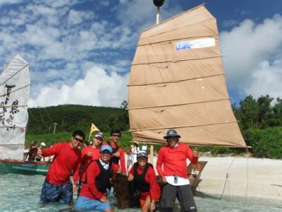 津梁は古式の難しさがあるため、これまで数回の練習に参加したメンバーで完漕を目指しました