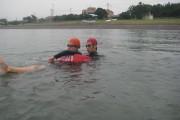 レスキューチューブにおける溺者救助のロールプレイング